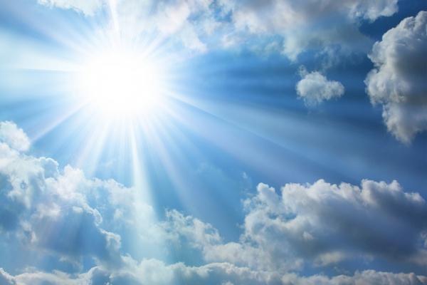 солнечная погода,весна,облака,солнечно,