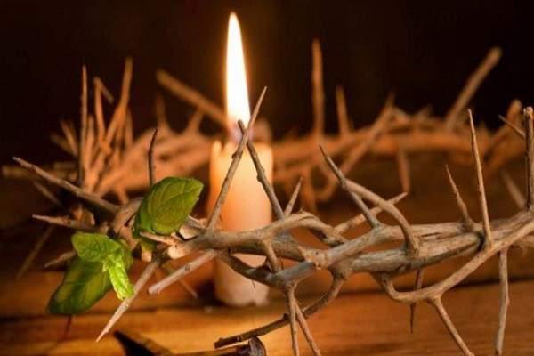 свеча,Страстная неделя,