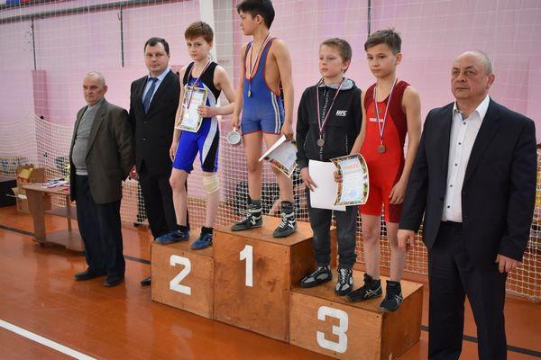 Юношеский турнир по греко-римской борьбе, посвященный Дню Победы