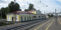 На станции Гороховец завершился ремонт исторического здания вокзала