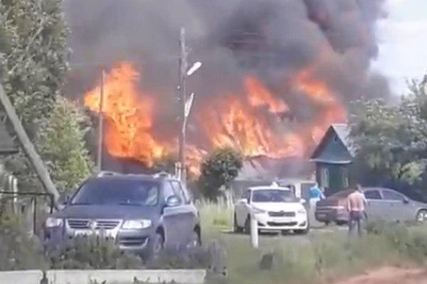 пожар,Руделево,Вязниковский район,