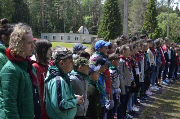Вязниковский район,лагерь Сосновый бор,Пивоварово,