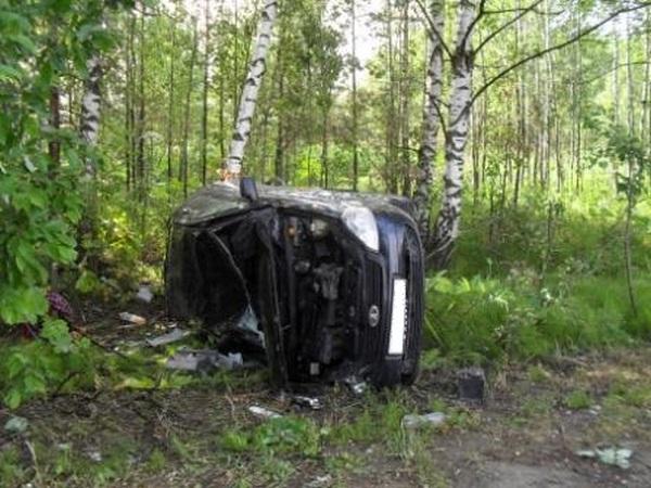 ДТП,авария,происшествия,Муромский район,Муром-Касимов,7 июля 2018 года,легковушка улетела в кювет,лада приора перевернулась,