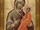 Тихвинская икона Божией Матери,