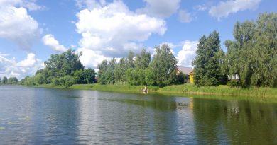 река Мстёрка,Мстёра,лето,Вязниковский район,Владимирская область,