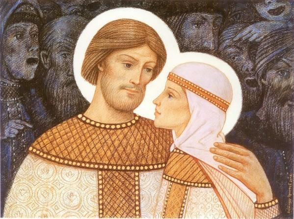 Пётр и Февронья,