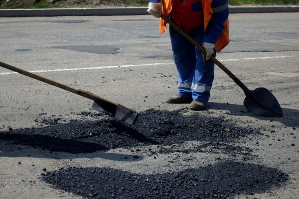 ремонт дорог,ямочный ремонт,