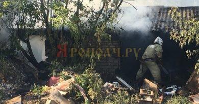 пожар,Вязники,горели сараи,улица Чехова,