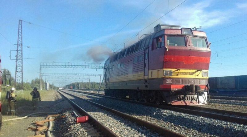загорелся поезд,Вязники,
