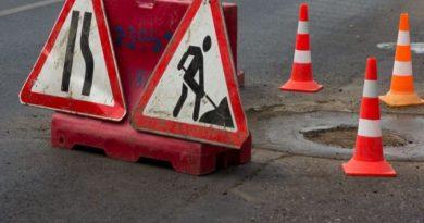 ремонт дорог,знаки дорожные,