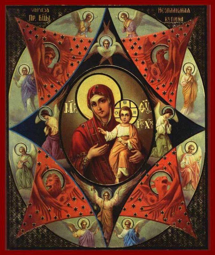 икона Божьей Матери Неопалимая Купина,