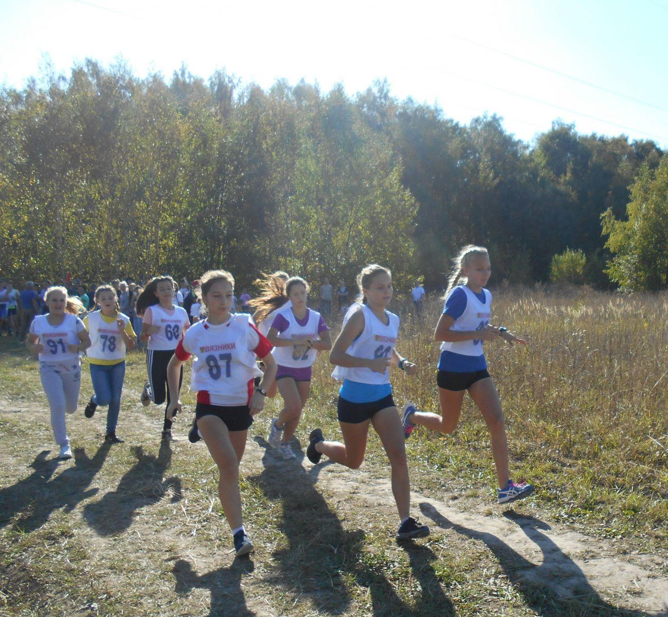 кросс,Чудиново,Вязниковский район,бег,золотая осень,
