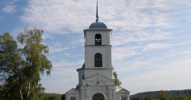 Акиньшино,храм Казанской Божией Матери