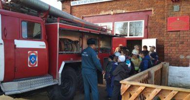 В фоминской пожарной части прошёл день открытых дверей