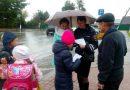 В Гороховце сотрудники ГИБДД и волонтеры провели профилактическую акцию на улицах города