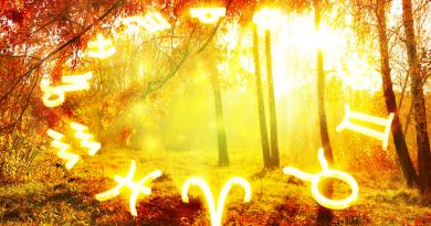 гороскоп,осень,осенний гороскоп,
