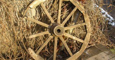 колесо телеги