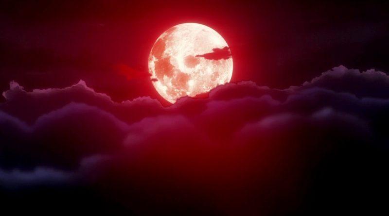 полнолуние,ночь,луна,облака,
