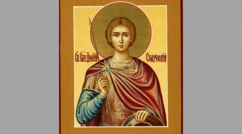 святой Дмитрий Солунский,икона,
